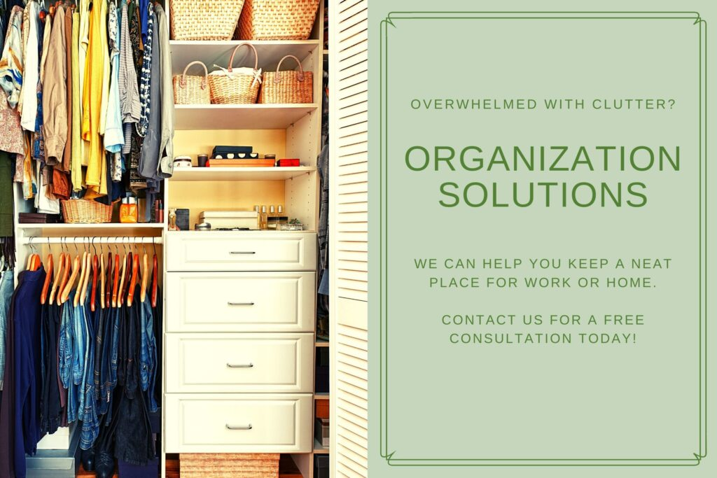 Organizing Cleaning Services Polk County Wisconsin
